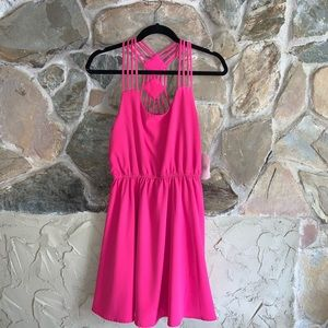 Altar'd State Fucshia Pop Dress